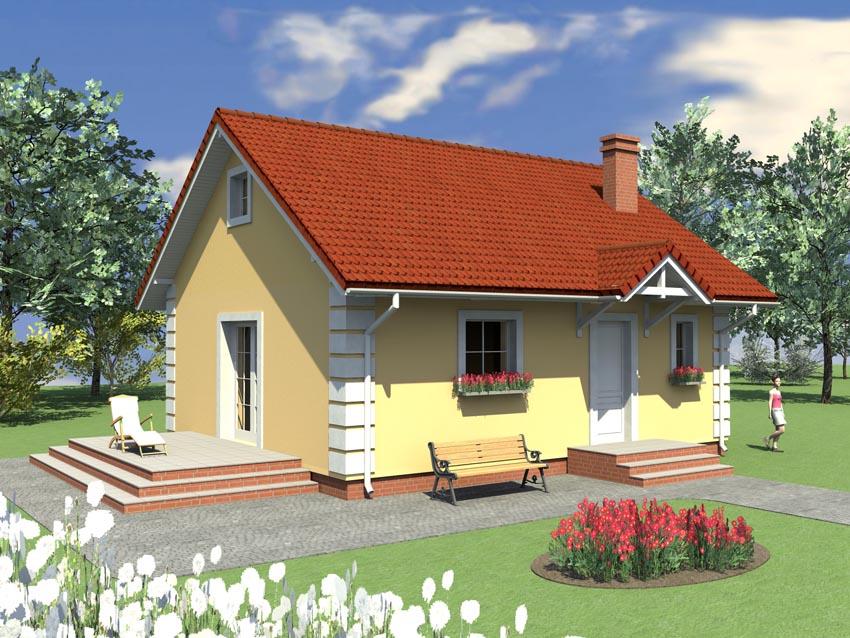 Mały dom w Chociwlu